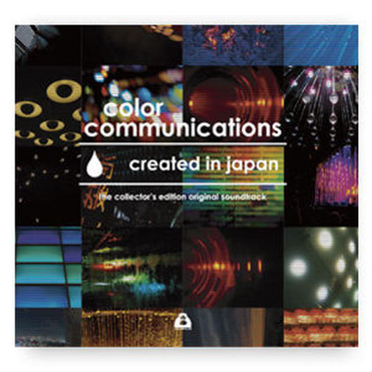 "V.A / color communications ""created in japan"" the collector's edition original soundtrack / CD"