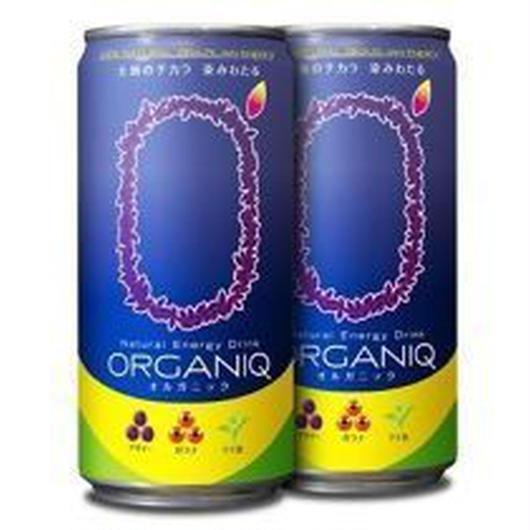 ORGANIQ(オルガニック) | ナチュラルエナジードリンク(24本入り)