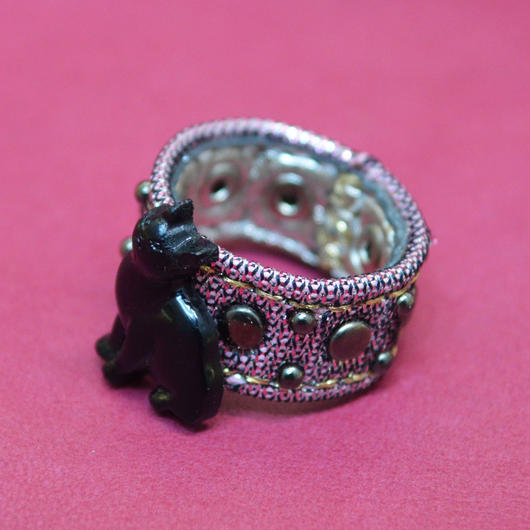 LEATHER RING (リトルキャット)