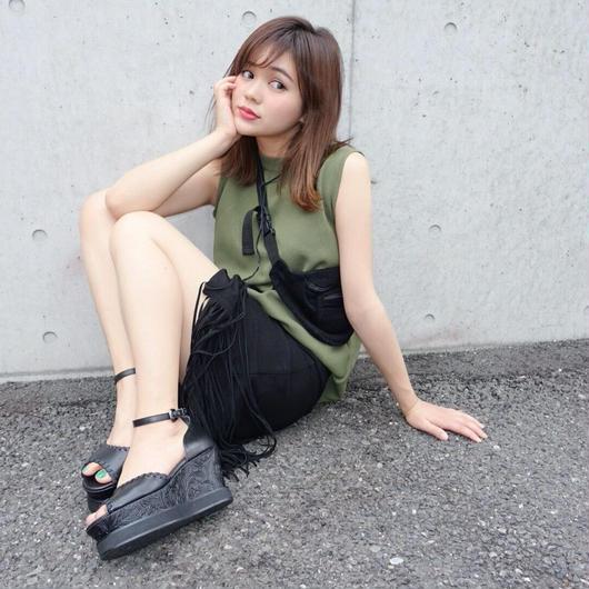 Jgene × HOLY CRAP! 1st collaboration sandal