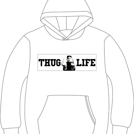 THUG LIFE PARKER(white)