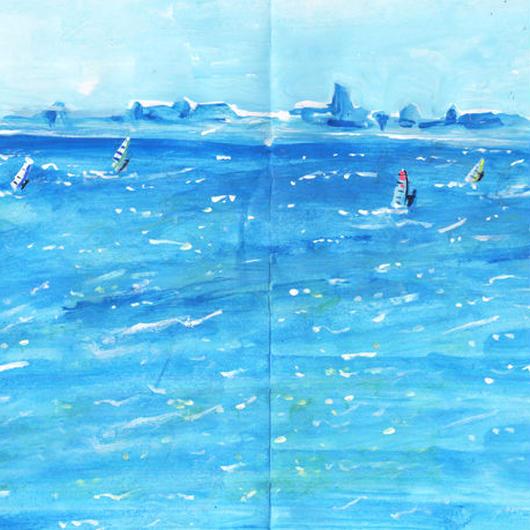 『Windsurfing』原画