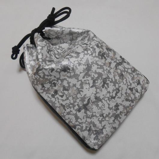 平織デニム使用 カモフラ・迷彩 信玄袋
