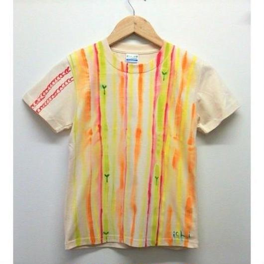 140サイズ☆お日様と自然を感じる☀手描きtシャツ