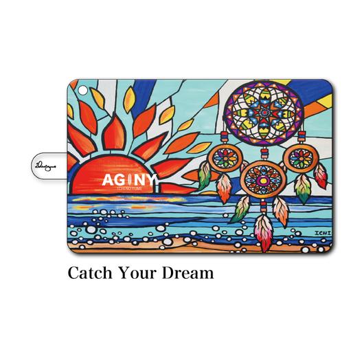 """iPad mini~4/Air1.2対応 手帳型カバー """"Catch Your Dream"""""""