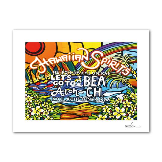 "A4 ArtPrint マットフレーム ""Aloha Spirit"""