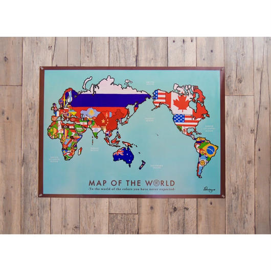ICHI NO YUME オリジナル 世界地図