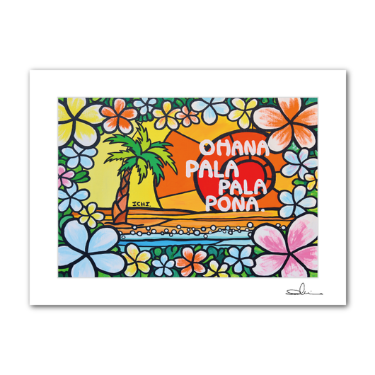 "A4 ArtPrint マットフレーム ""Pala Pala Pona"""