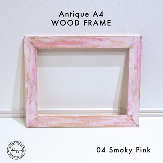 Art Print WOOD FRAME 〝Smoky Pink〟