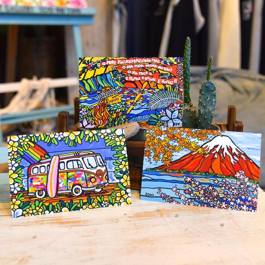 オリジナル ポストカード 3枚セット〝W&F&H〟