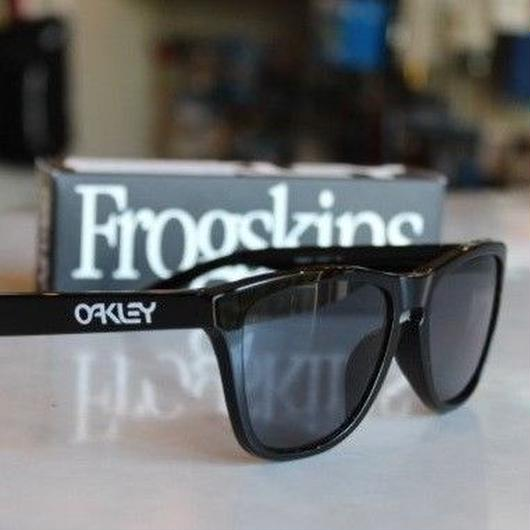 OAKLEY FROGSKINS 【POLISHED BLACK】