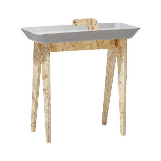 サイドテーブル Tiny Walk グレー