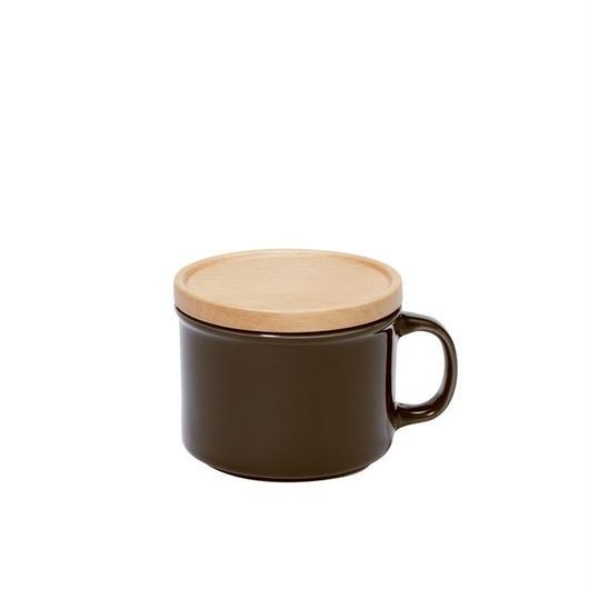 canister mug S ブラウン