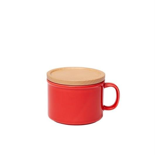 canister mug S レッド
