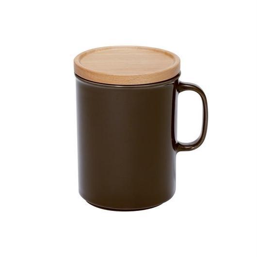 canister mug L ブラウン