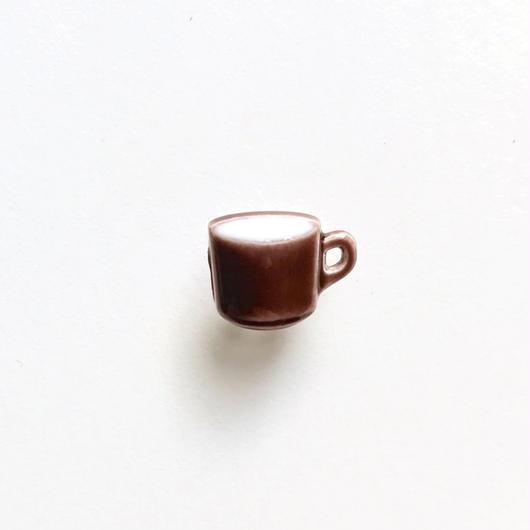 コーヒーカップボタン (JB767252 ブラウン)