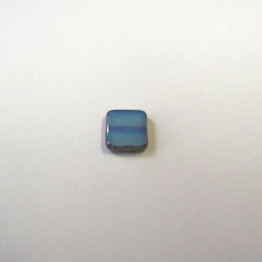 スクエアビーズ オパール(FJ137 ブルー)