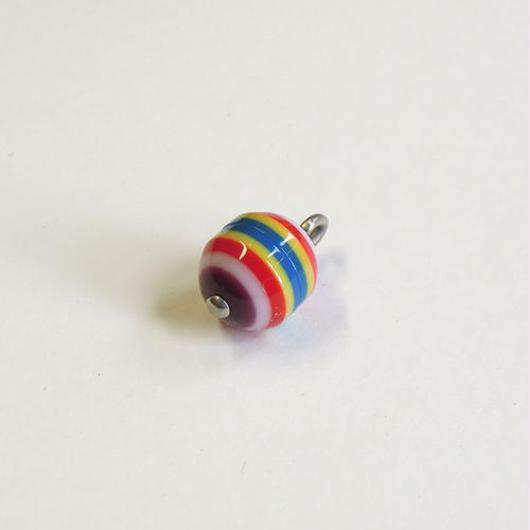 ラウンドボタン(JB545085 マルチ レッド系)