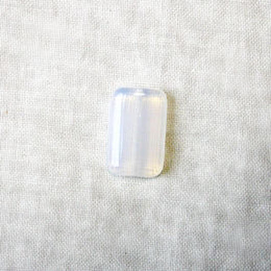 レクタングルビーズ(長方形) オパール(FJ64  ホワイト)