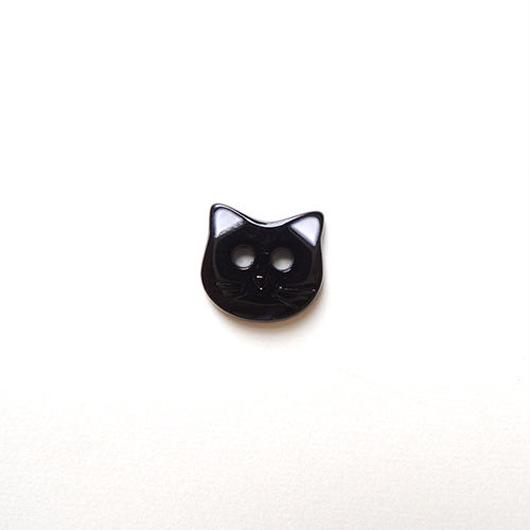 ネコのボタン(JB447026 ブラック)