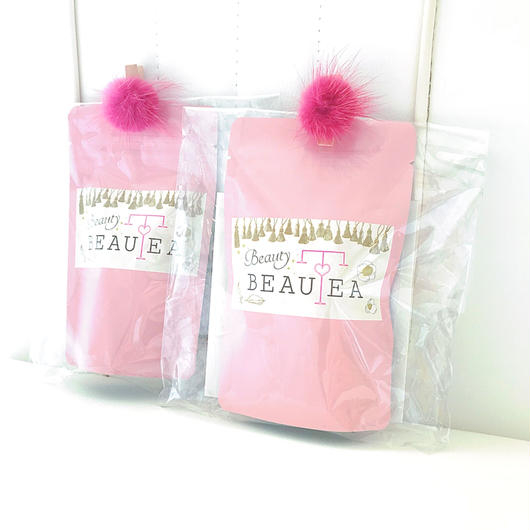 薬膳茶*BeautyBEAUTEAティーバッグ5個入りプチパック(ピンク)5点以上宅急便