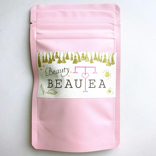 薬膳茶*Beauty BEAUTEAティーバッグ3個入りプチパック(ピンク) 3点以上宅急便