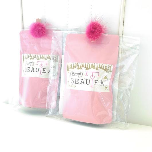 薬膳茶*Beauty BEAUTEAティーバッグ5個入りプチパック(ピンク)5点まで