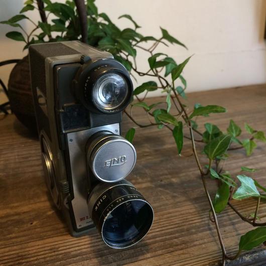 【古道具13】エルモ8-L ELMO8-L ぜんまい8ミリカメラ  ELMO8-L