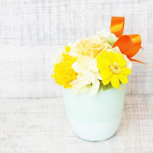 Mother'sDayアレンジメント【プリザーブドフラワー】/yellow