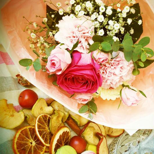 【生花定期便/月1回お届け】自分にご褒美プラン/旬の花のブーケ