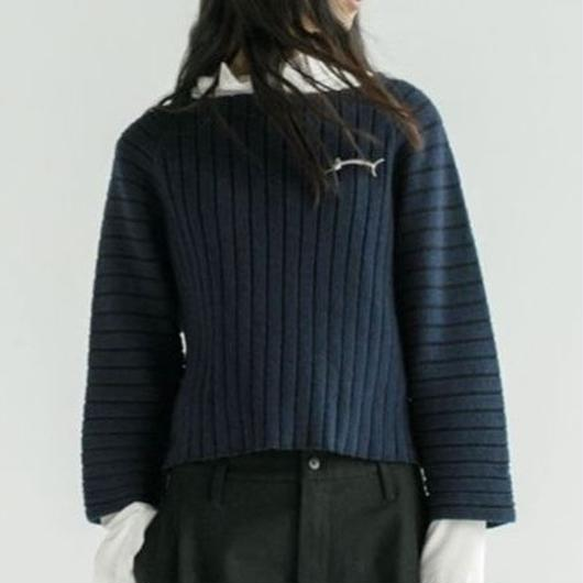 strip Lips neck sweater