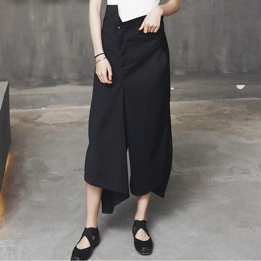 irregular shape skirts pants