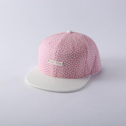 pink flower cap