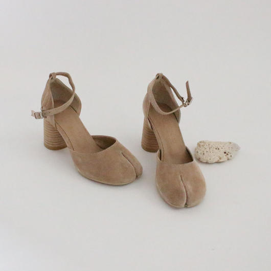 TABI suede leather shoes