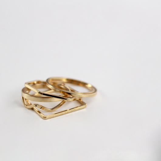 chic six-piece join ring(6pcs)