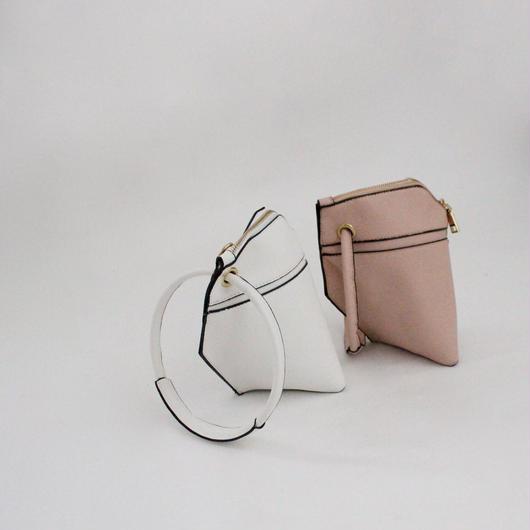 2color-big ring 2 way bag