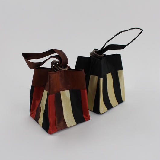 pouch three rings stripe