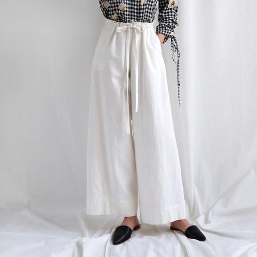 linen wide loose pants
