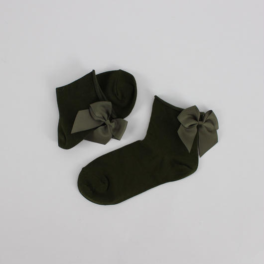 2color-rear Ribbon socks