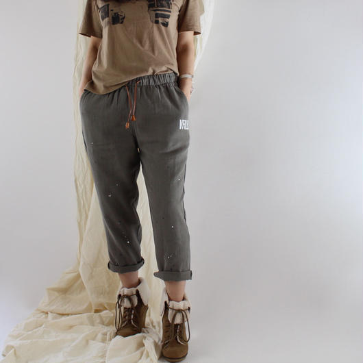 2colors-linen paint pants