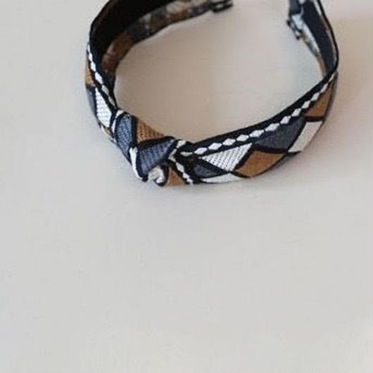 geometric pattern hairband