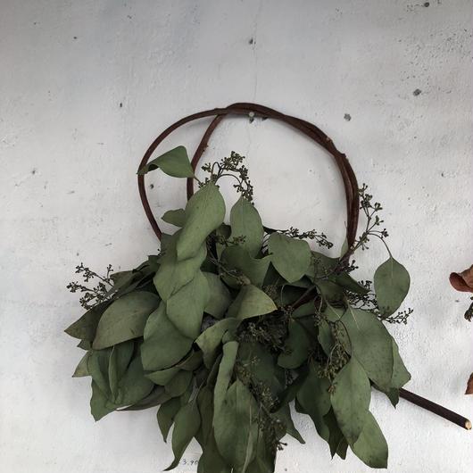 ユーカリの枝見せリース