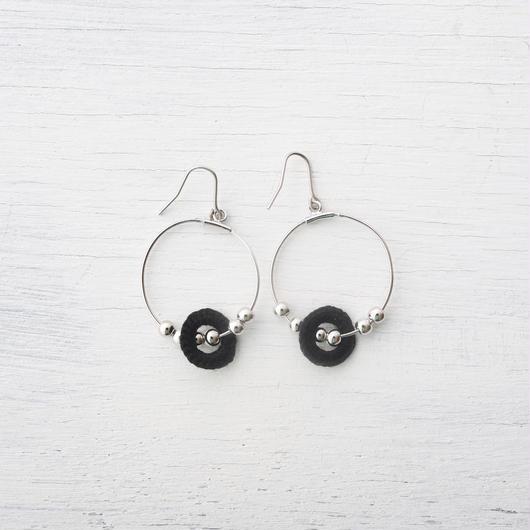 ビーズフープピアス(5色) / beads hoop pierce(5colors)