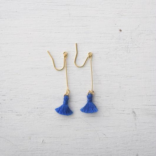 スウィングミニタッセルピアス(5色) / swing mini tassel pierce(5colors)
