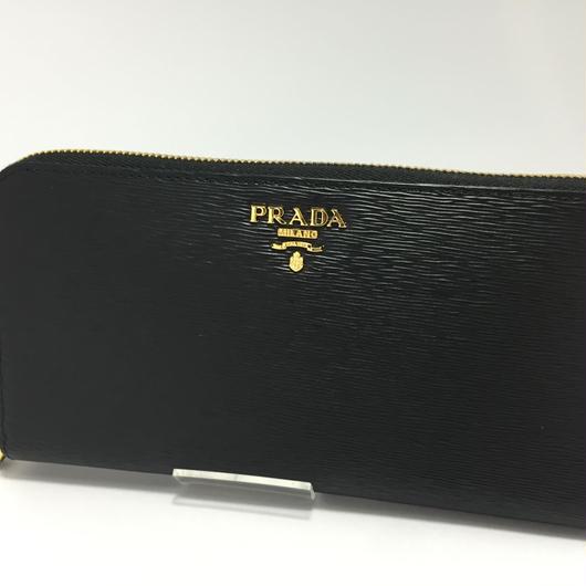 PRADA VITELLO MOVE 黒  品番:1M0506 財布