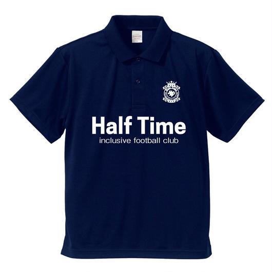 【受注生産】Half Timeオフィシャルドライポロシャツ