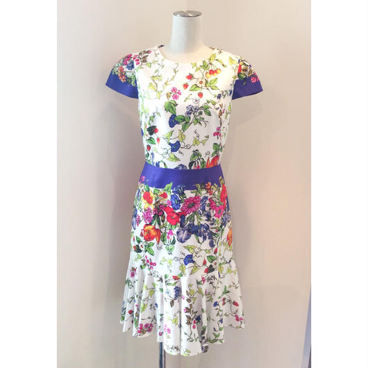 MILLY(ミリー)  flower print dress 378-52321