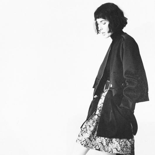DOROTHEE SCHUMACHER (ドロシーシューマッハ)satin zip up jacket
