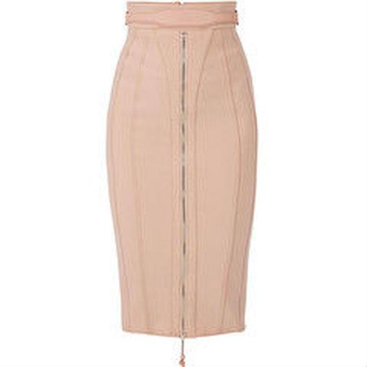 ELISABETTA FRANCHI(エリザベッタ フランキ) calf-length skirt with belt 1814010