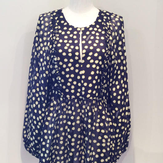 DOROTHEE SCHUMACHER (ドロシーシューマッハ)  dot blouse